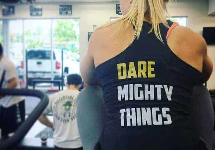 dare mighty things shirt