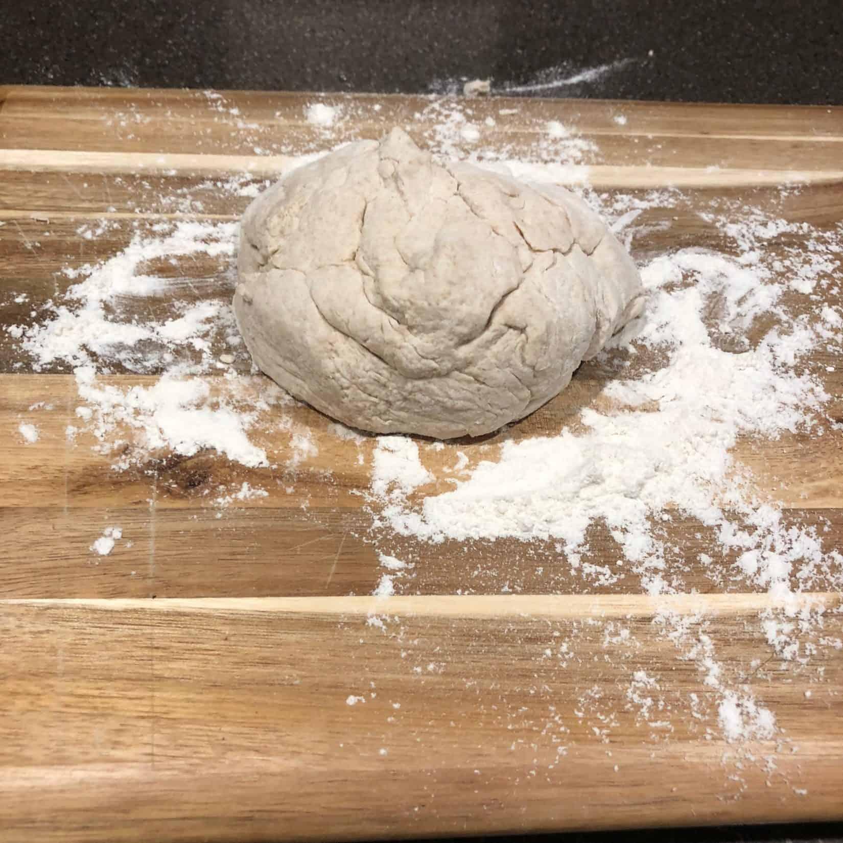 kitchen food prep flour