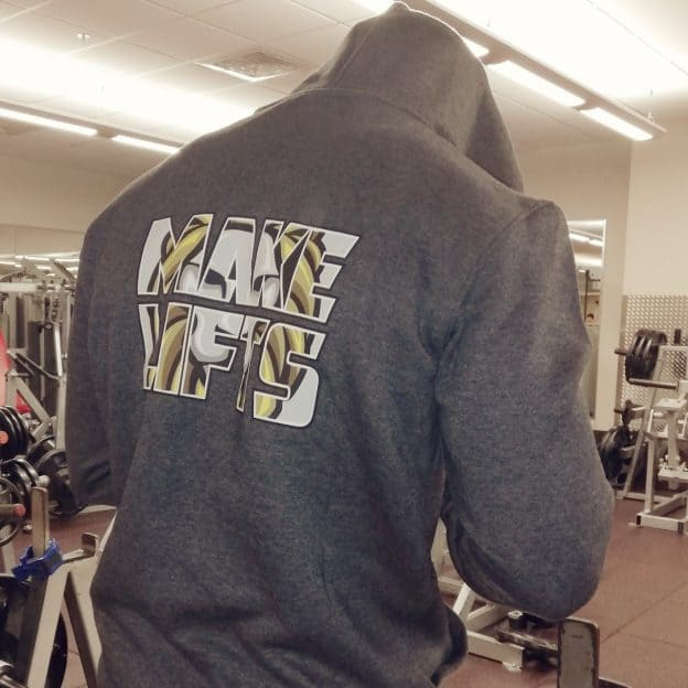 make lifts hoodie